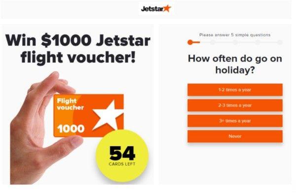Win $1000 Jetstar flight voucher free. | Jetstar, Holiday ...