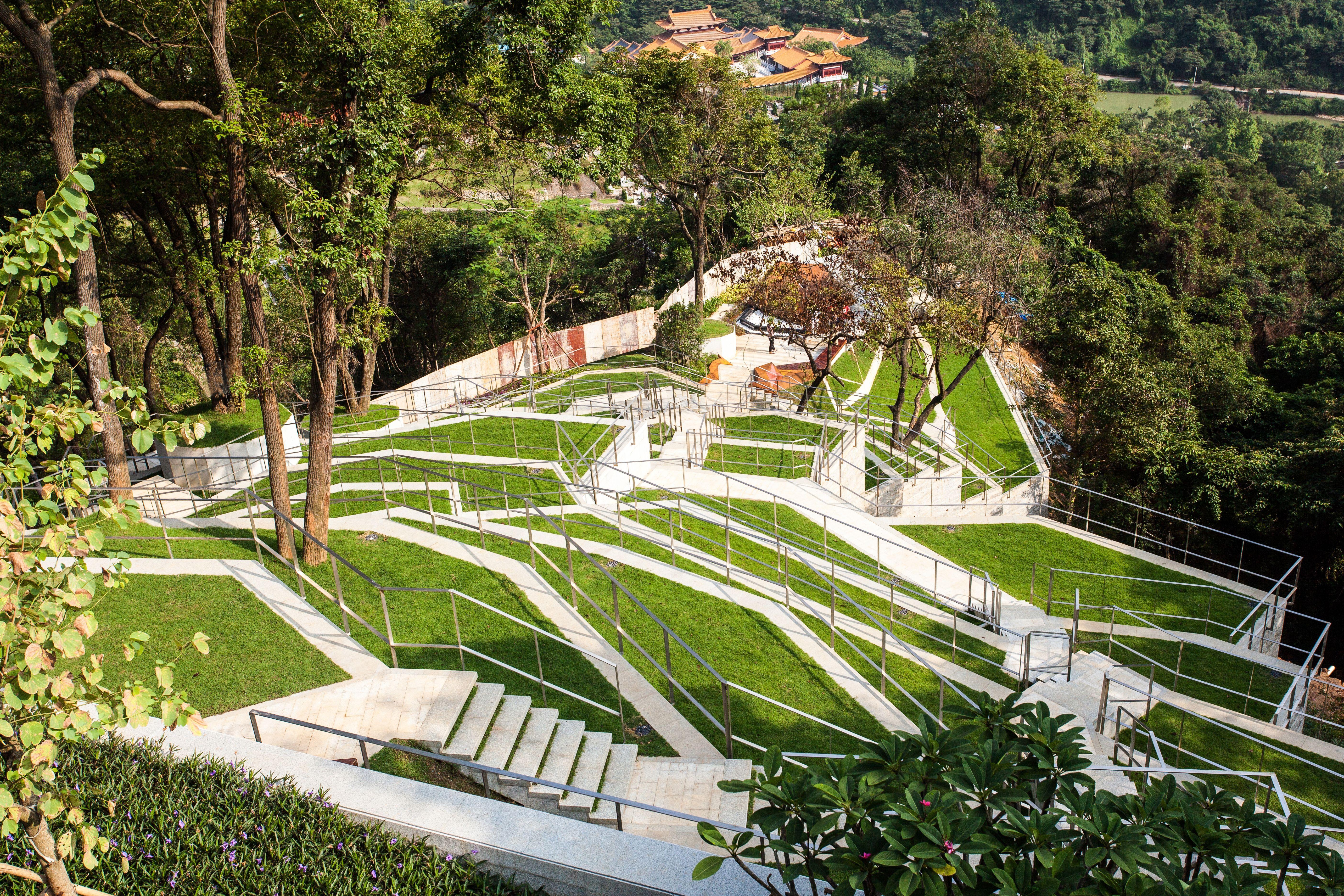 Sed Landcape Architect Ltd Modern Naturalism Memorial Park Plant Steps Height Sed新西林景观国际 9 Landshaftnyj Dizajn Dizajn