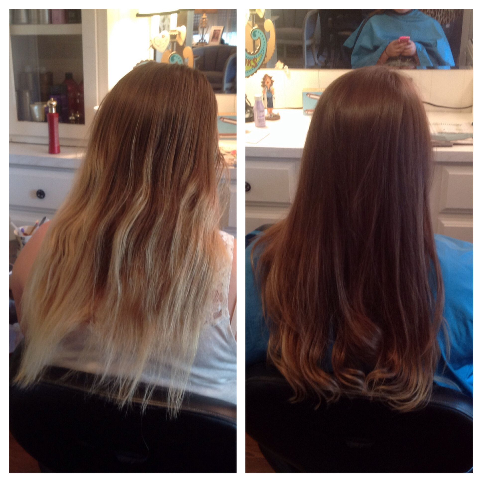 Coloring Hair Makes It Thicker