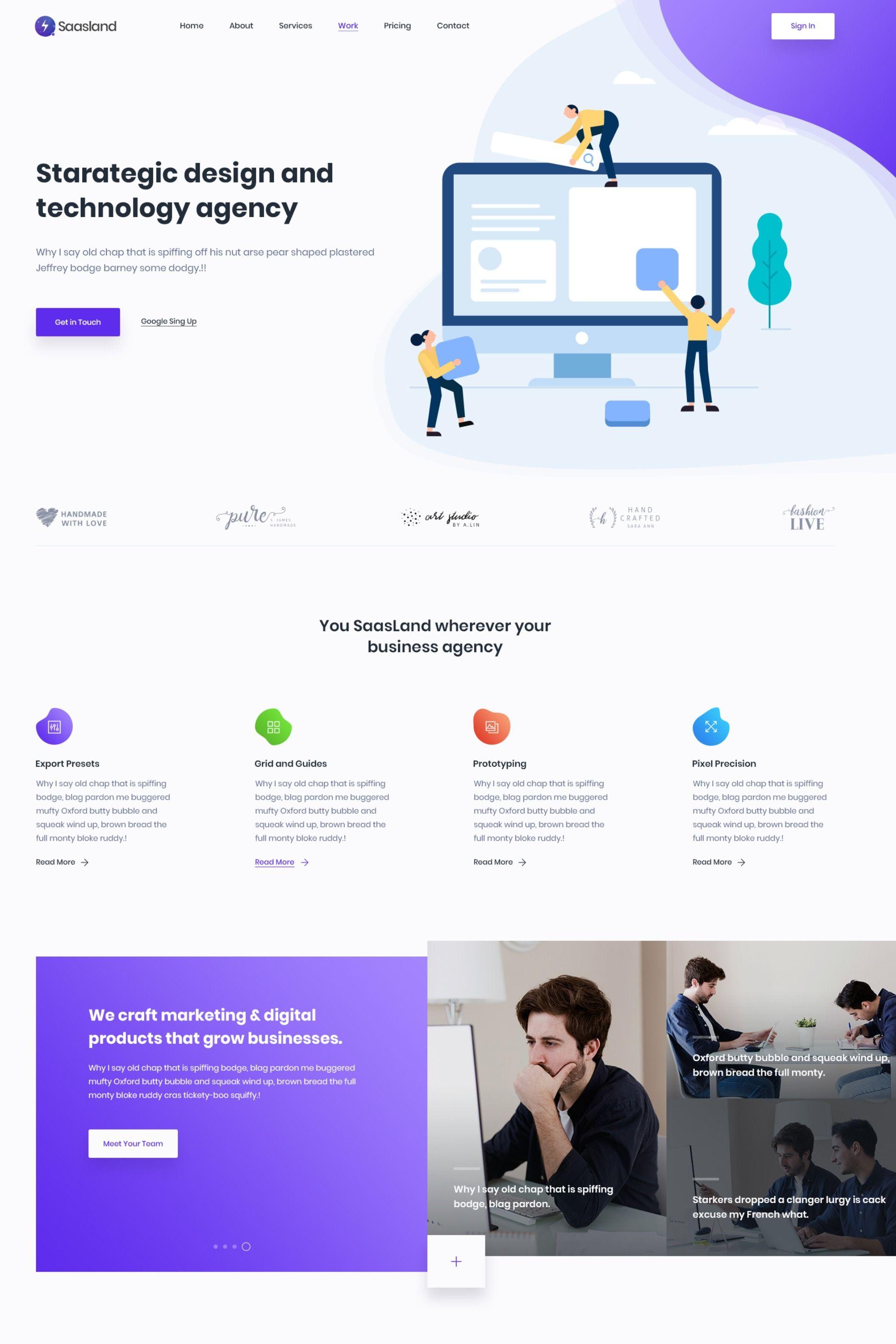 Digital Marketing Lading Page Web Design Landingpage Webdesign