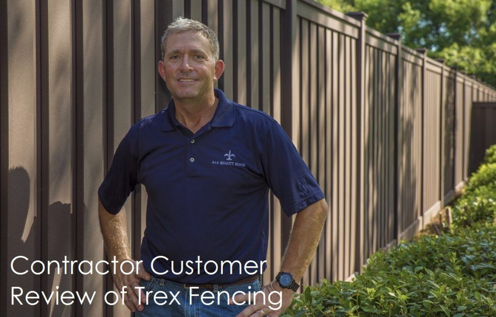 New Review Videos Trex Fencing Trex Fence Contractor