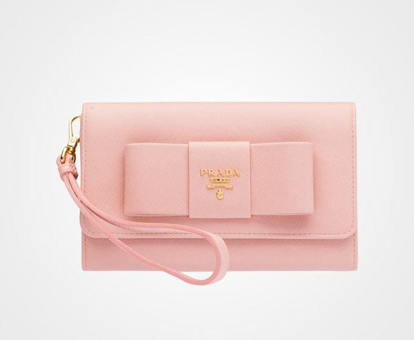 pink with a bow Prada....yes, please