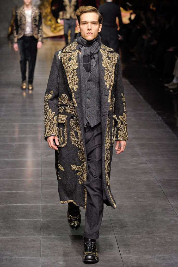 Dolce & Gabbana - Fall 2012 Menswear - Look 65 of 76