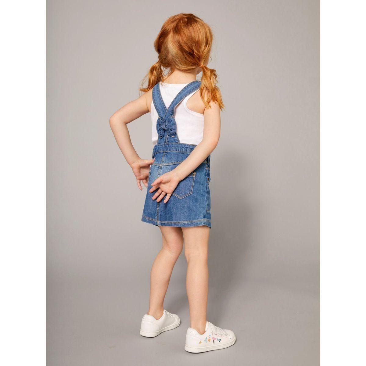 matériaux de haute qualité magasiner pour véritable haute couture Robe Salopette Fille En Jean - Taille : 14 ans;12 ans;10 ans ...