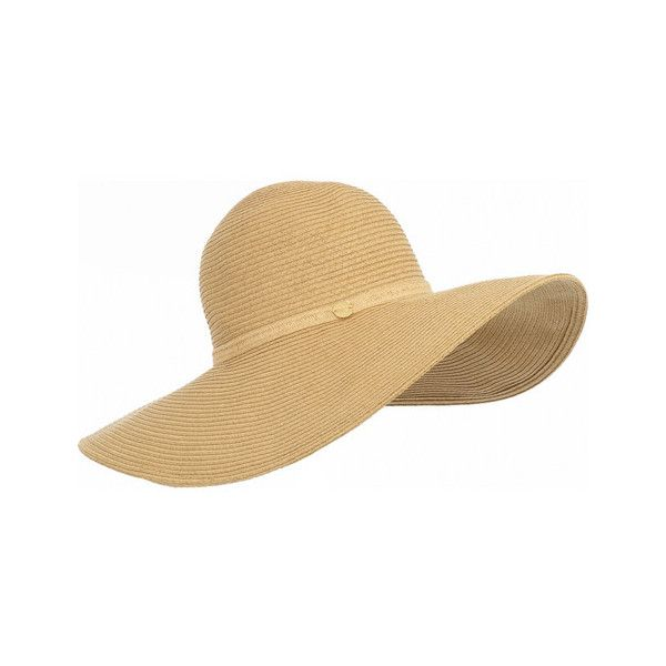 Melissa Odabash Jemima sun hat | NET-A-PORTER.COM ❤ liked on Polyvore featuring accessories, hats, beach, hair accessories, net hat, beach sun hat, netting hat, netted hats and beach hat