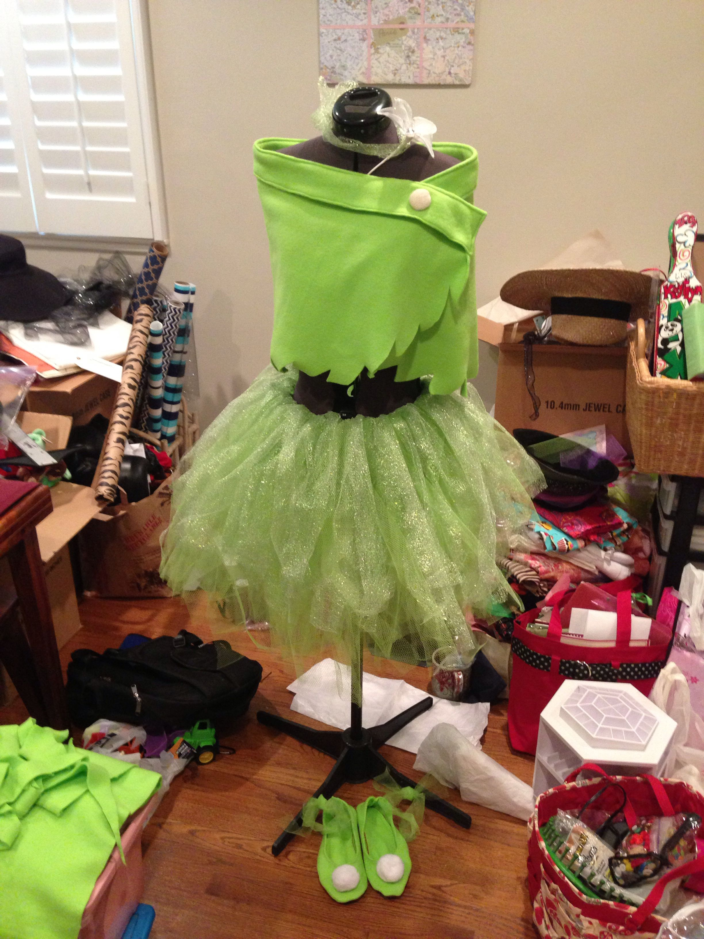 DIY tinkerbell costume   hallo halloween   Pinterest   Fasching ...