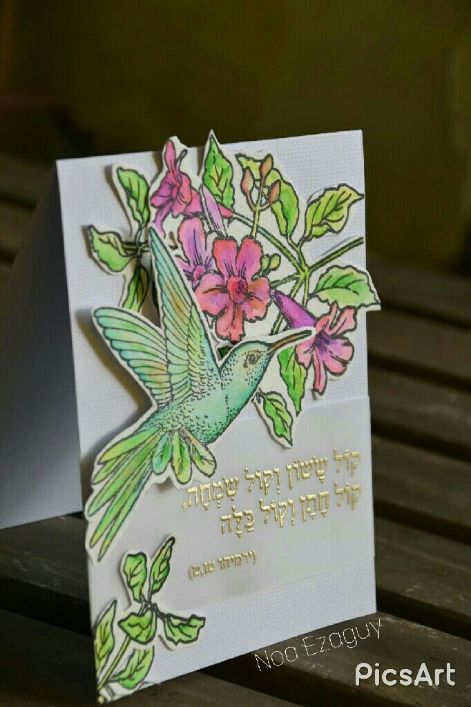 #spamendous #hummingbirds #stamp #stamping #cardmaking #handmadecards #zigrealbrush #watercoloring