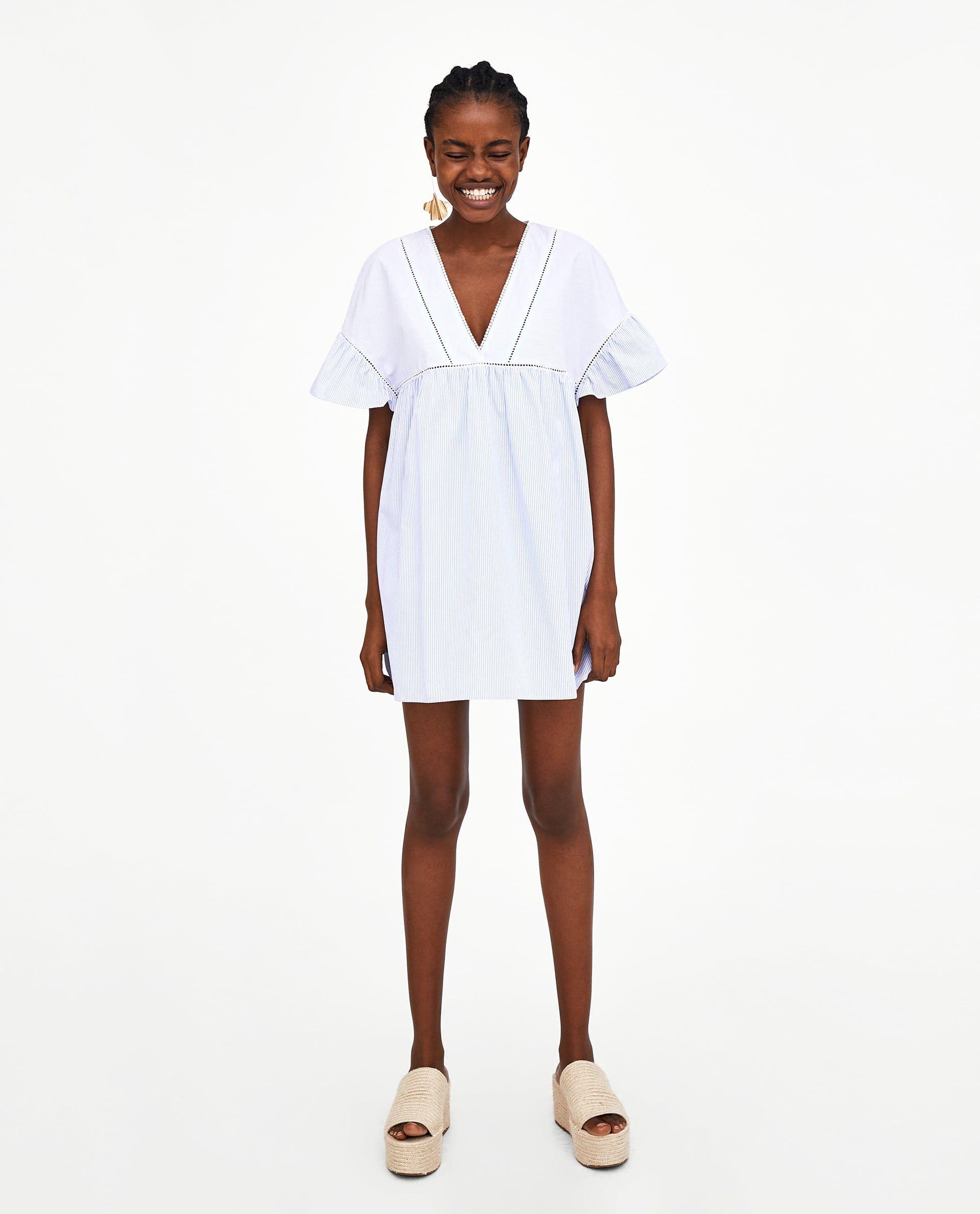 Vestido Y Mono Veux Zara Femme Chemise CamiseroJe RobeRobe SqzMVGUp