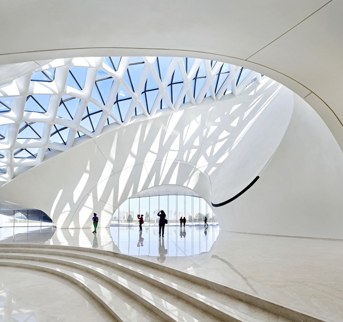 Harbin Opera House - Picture gallery #architecture #interiordesign #skylight #white