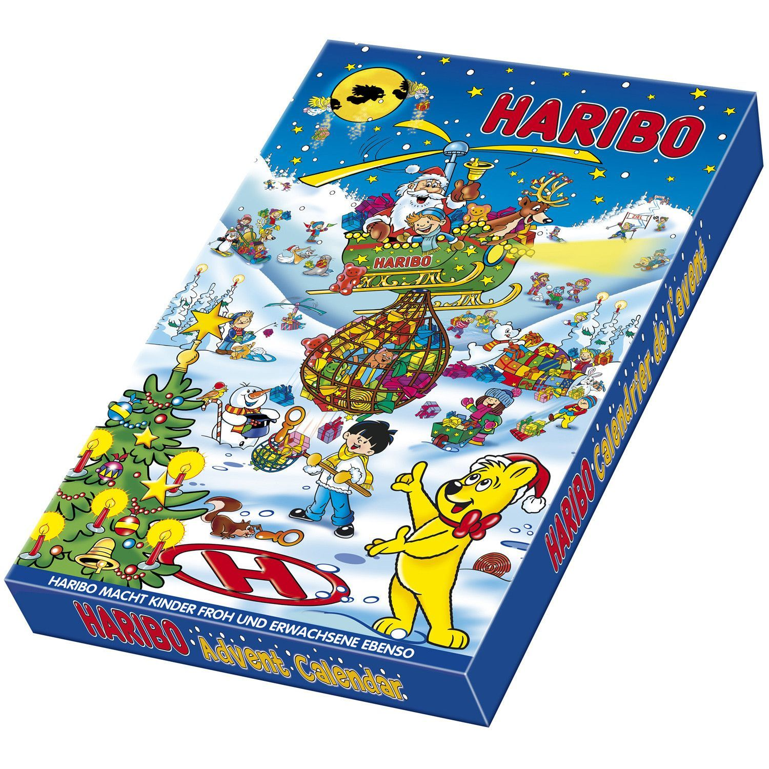 in USA Haribo Advent Calendar Christmas 2016 Advent