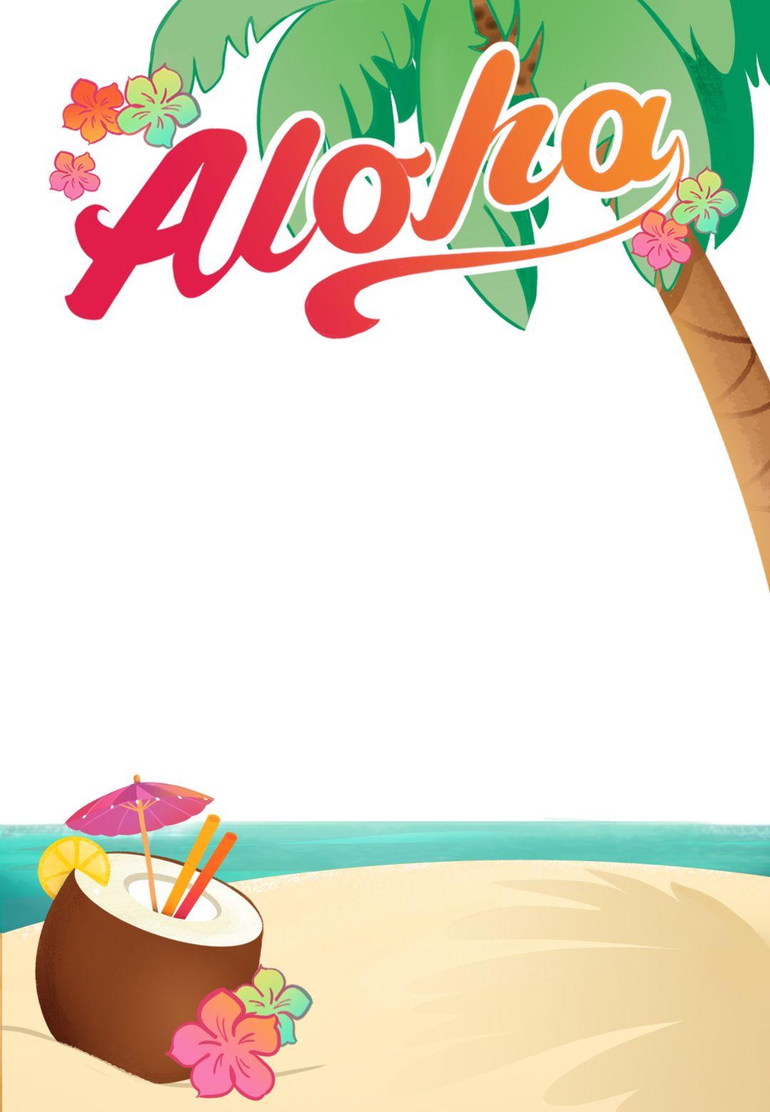 Cards Diy Holiday Hawaiian