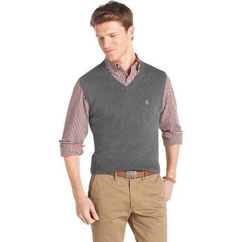 IZOD Solid Sweater Vest #Kohls #MensFashion | Style for Him ...
