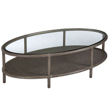 Barbara Barry Ellipse Cocktail Table Mcguire Furniture Coffee