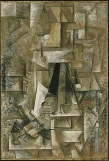 Pablo Picasso - Man with Guitar, 1912