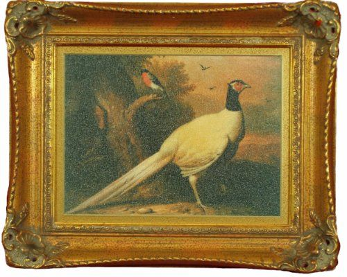 Pheasant oil painting reproduction exquisitely reproduced for Framed reproduction oil paintings