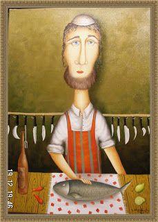 Artist Zurab Martiashvili: Jewish Motifs
