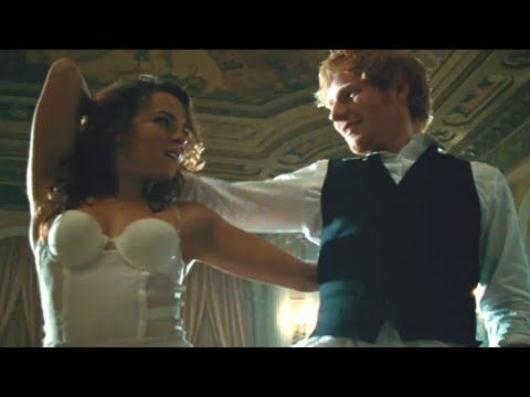 """The singer-songwriter put on his dancing shoes for the music video for his latest single, """"Thinking Out Loud."""""""