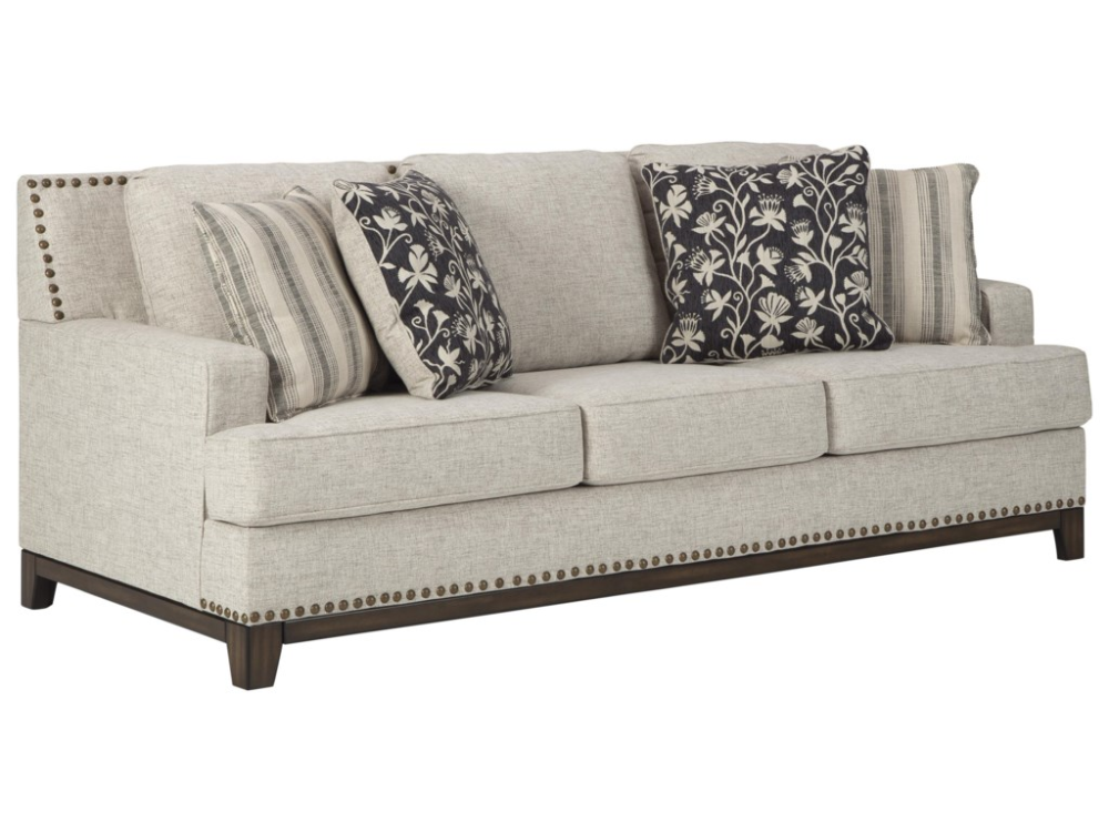 Ballina Linen Sofa By Ashley Furniture At Sam Levitz Furniture Sofa And Loveseat Set Sofa Design Furniture