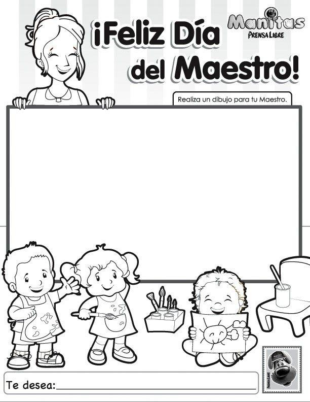 Feliz Día Del Maestro Dia Del Maestro Día De Los Maestros