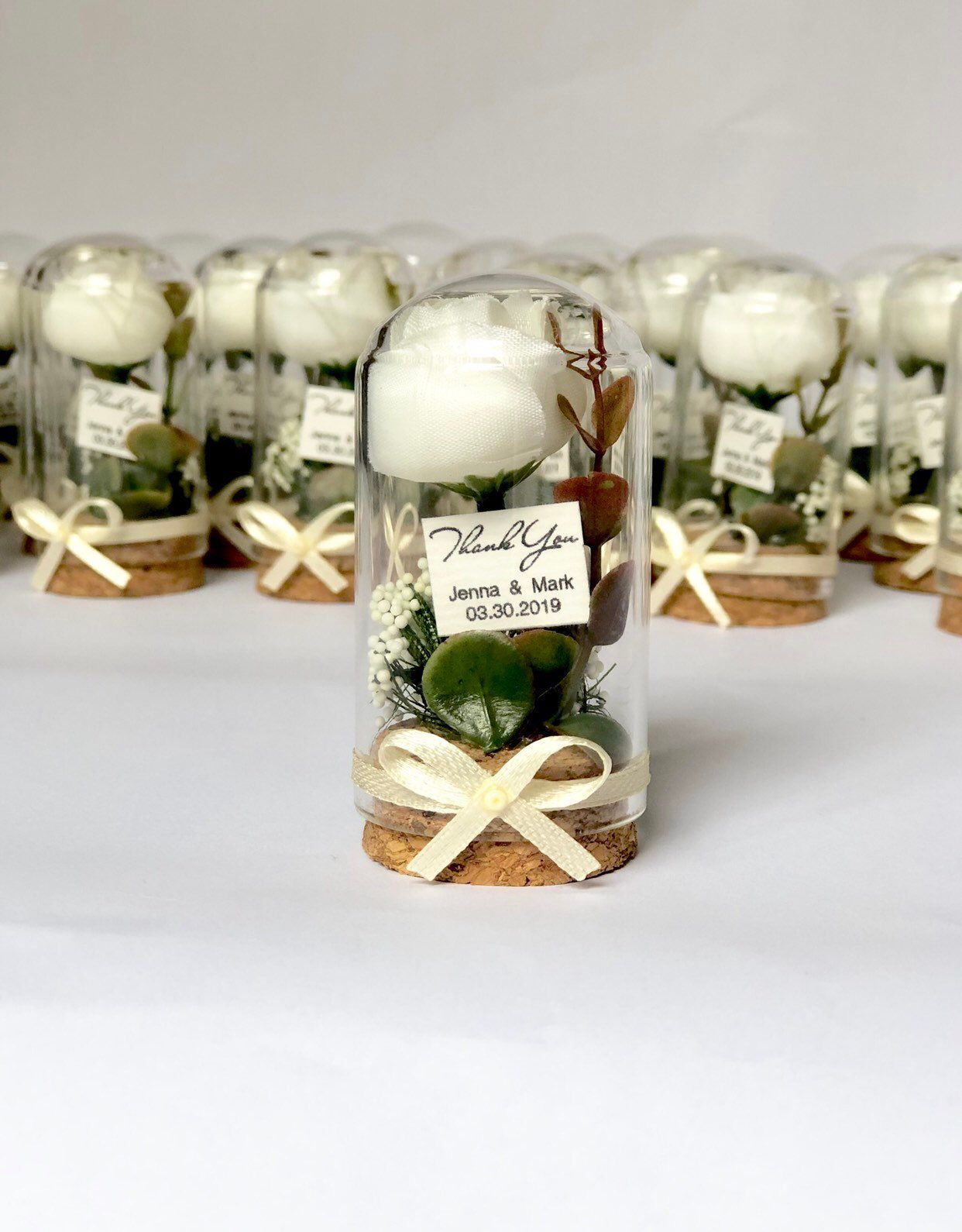 Items similar to 10pcs Mini Beauty and the Beast Rose Domes, Jar favors, Wedding favors, Glass favors, Favors, Wedding favors,  Favours, Boho, Baby shower on Etsy