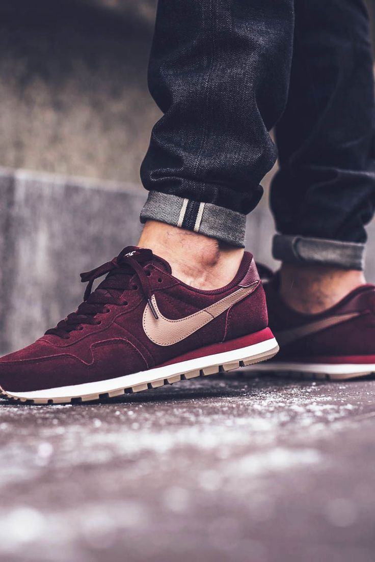 detailed pictures 0f076 84029 NIKE Air Pegasus 83 LTR Maroon × Team Red  maroon  nike  kicks