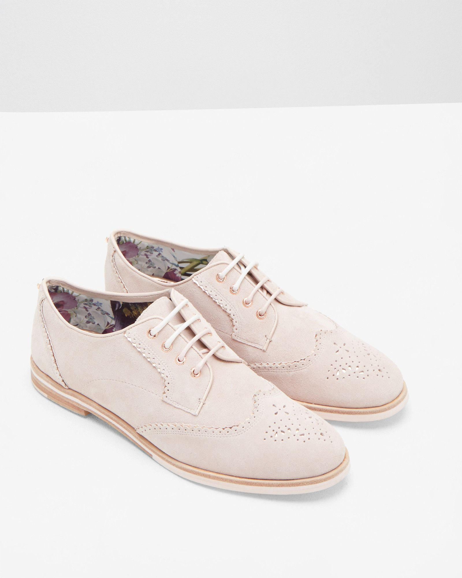15d160ddd9383f Lace-up brogues - Light Pink