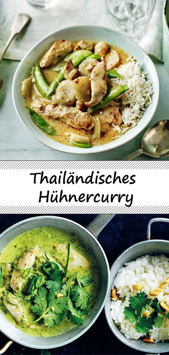Thailändisches Hühnercurry #chinesefood