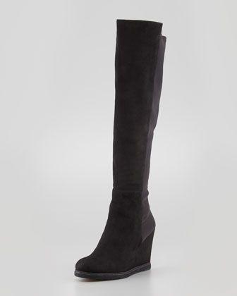 f33c3c3ab1e In looooooooooove!!!!! Must have!!! Demiswoon Over-the-Knee Wedge Boot