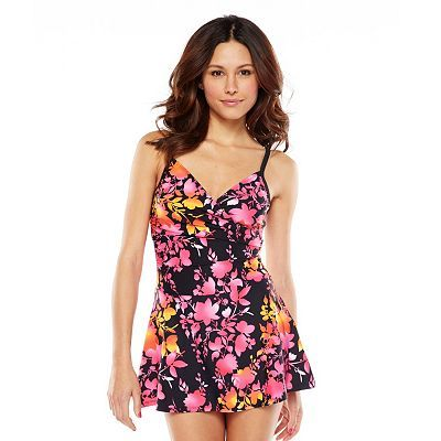 bdeb3a76f5 Suit Yourself Tummy Thinner Floral Swimdress - Women's | Clothes for ...