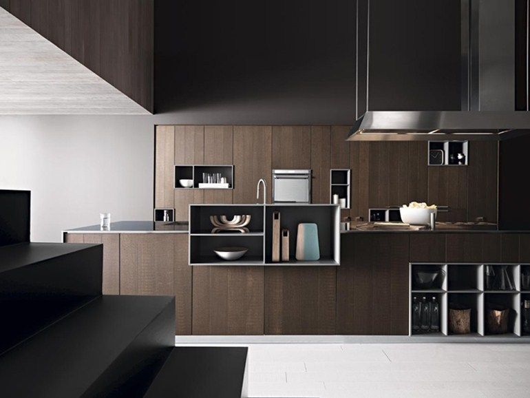 designer kuche kalea cesar arredamenti harmonischen farbtonen, fitted kitchen with island kalea - composition 1 | cesar arredamenti, Design ideen
