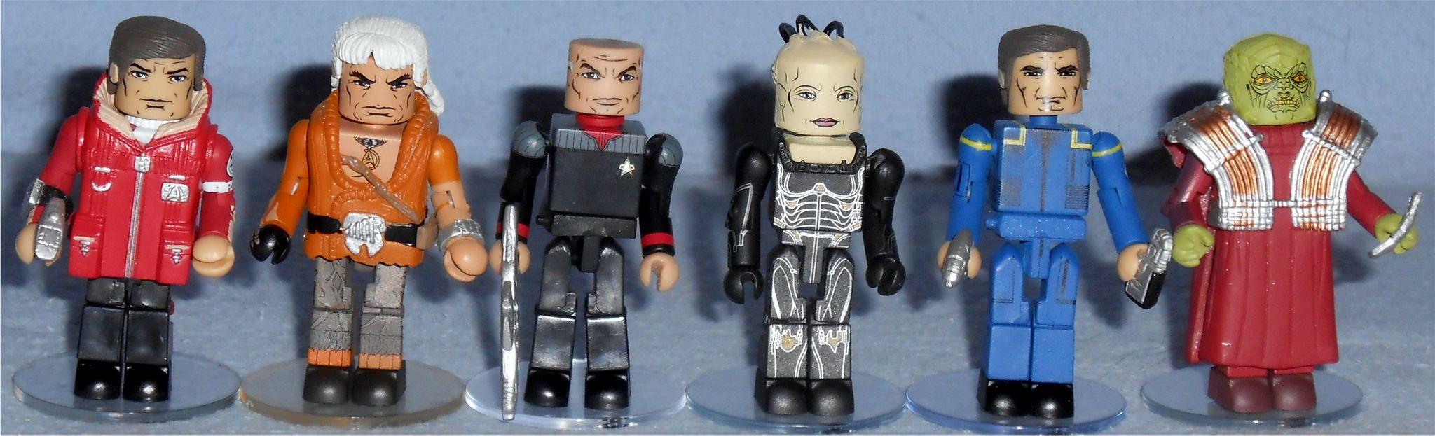 Star Trek Legacy Minimates TRU Wave 1 Captain Kirk /& Khan