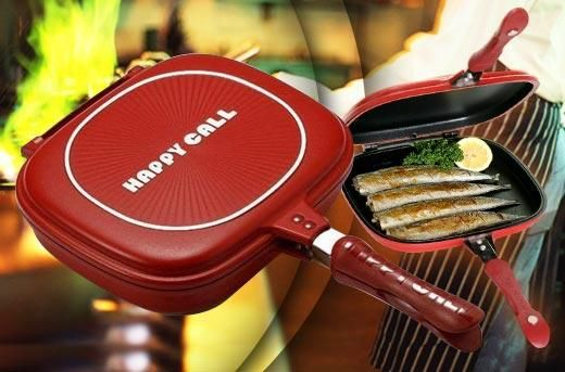 Cook Easier Get Healthier Foods Using Less Oil With An Original Happy Call Double Pan For Rp230 000 Instead Of Rp780 000 Dapatkan Penawaran Menarik Instagram