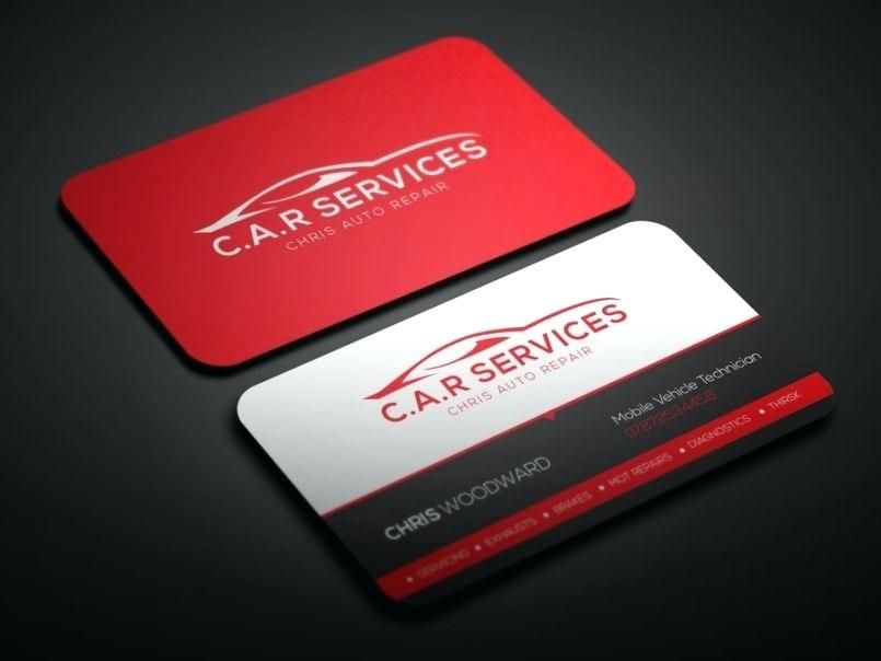 Computer Technician Business Card Template Free Automotive Free Business Card Templates Card Templates Free Business Card Template