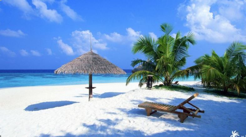 Wisata Alama Di Pulau Lombok Pemandangan Pantai Pantai Cenang