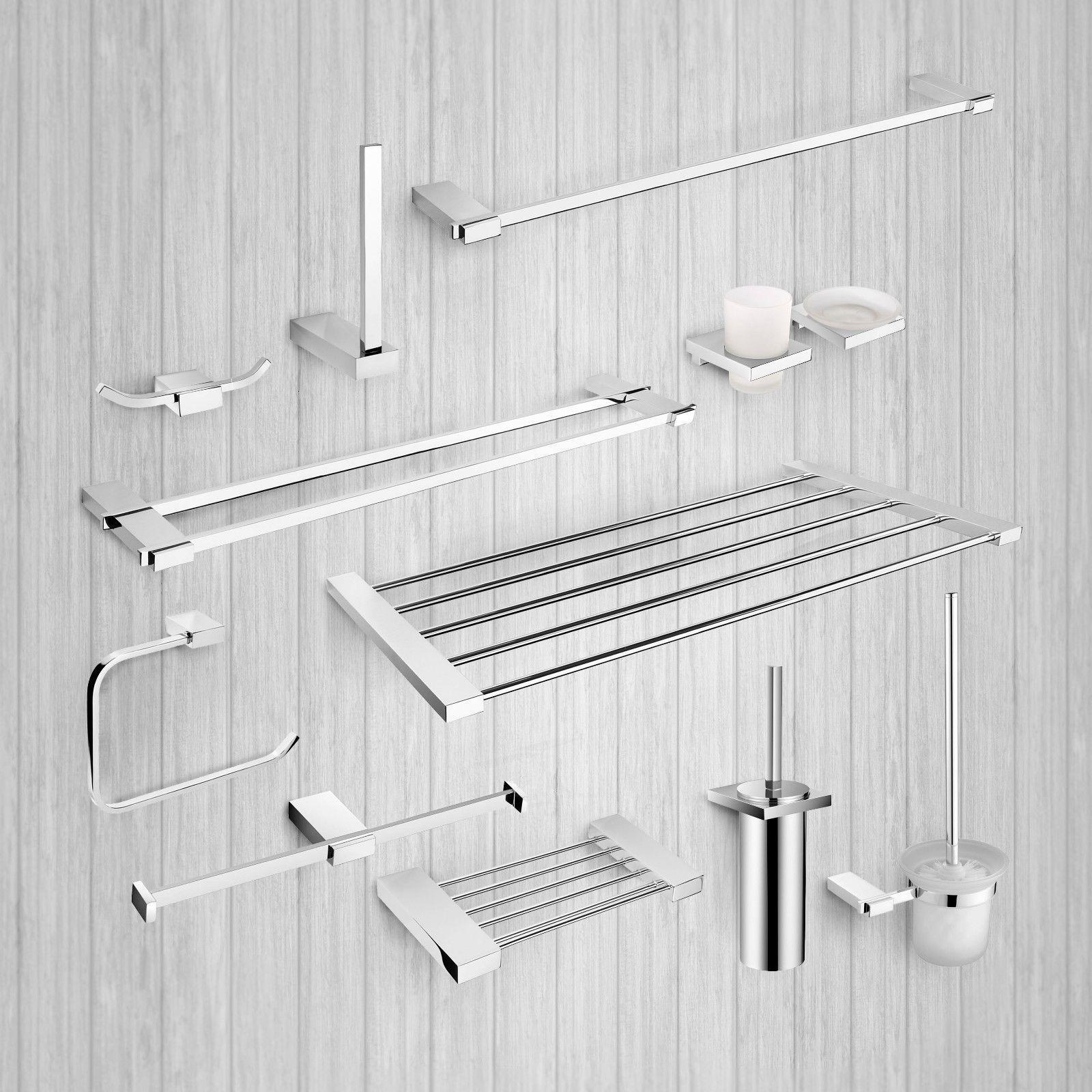 Bathroom #accessories #modern toilet wall #mounted shelves rail hook ...