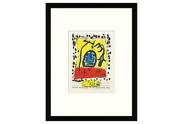 Joan Miró, Galerie Matarasso, Nice, from School of Paris Lithographs on One Kings Lane