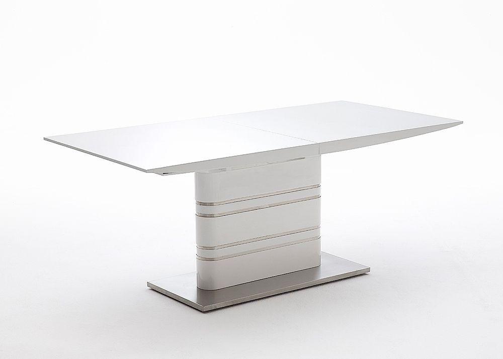 Esstisch Modusa Weiß Hochglanz Größe wählbar 5765 Buy now at