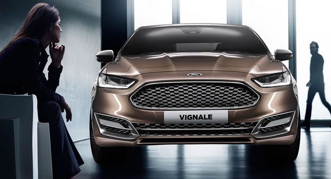 Ford Releases Complete Set Of Photos Of New Mondeo Vignale Concept