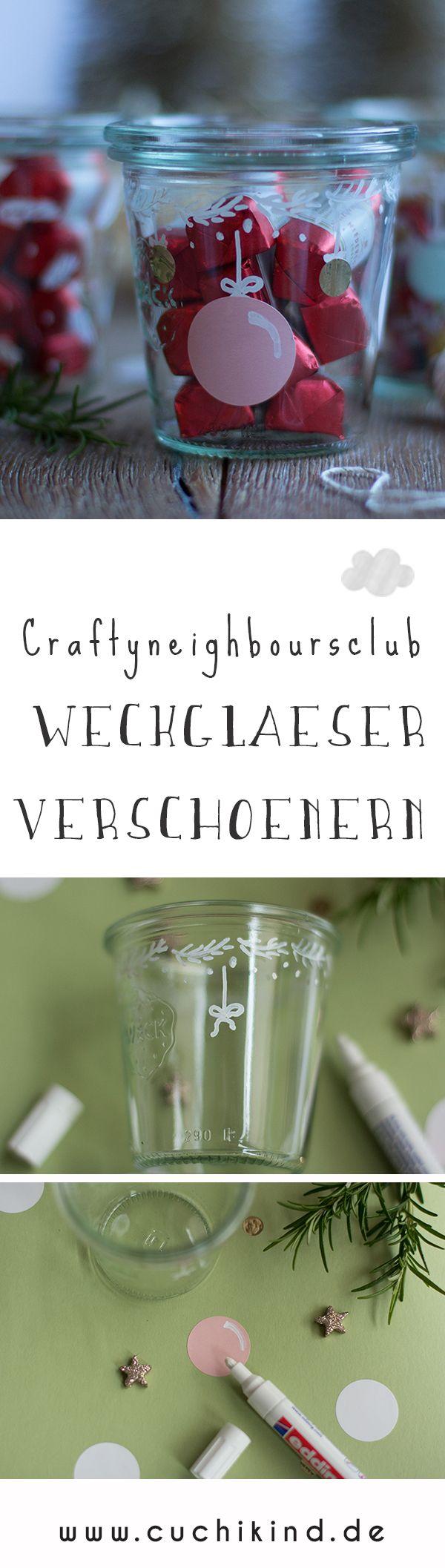 12: craftyneighboursclub - Weihnachten im Glas | DIY Geschenkideen ...
