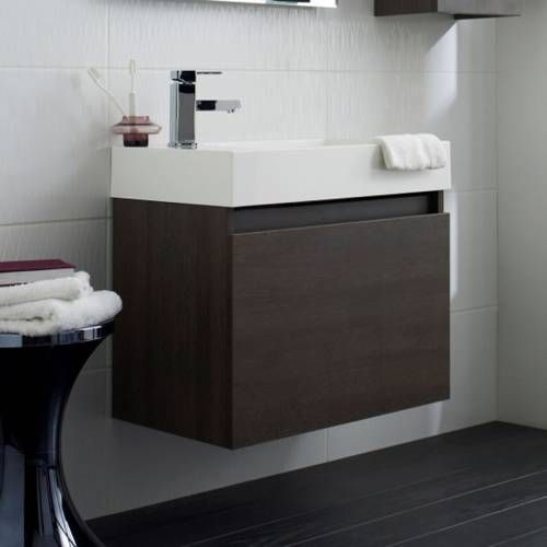 hudson reed meuble sous lavabo de salle de bains suspendu 600x550x380mm enzo salles de bain. Black Bedroom Furniture Sets. Home Design Ideas