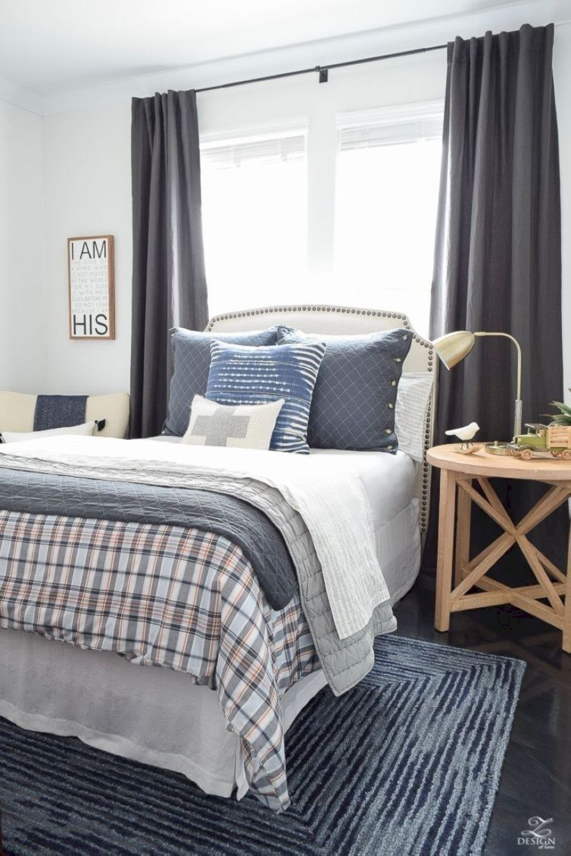 33 Stylish Bedroom Design Ideas for American Style Houses ... on Bohemian Bedroom Ideas On A Budget  id=46375