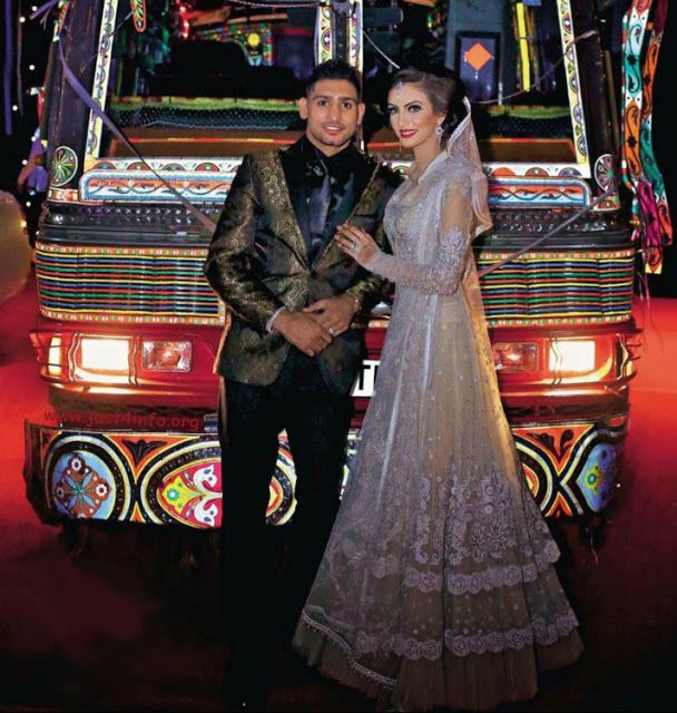 Very Pakistani Amir Khan And Faryal Makhdoom