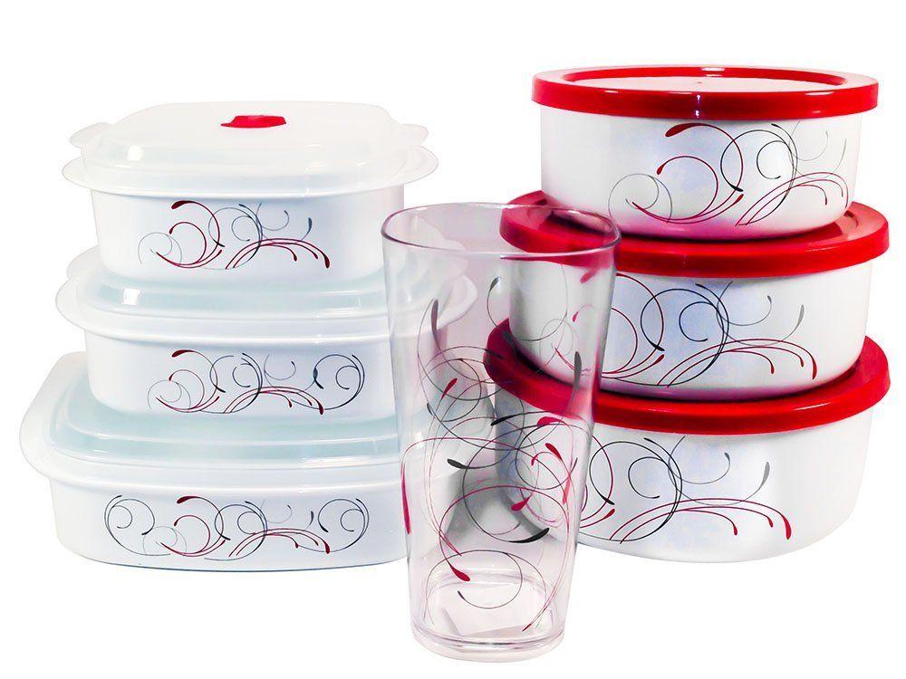 Corelle Splendor Bundle Includes Bowl Set Microwave And Acrylic Gl Cups