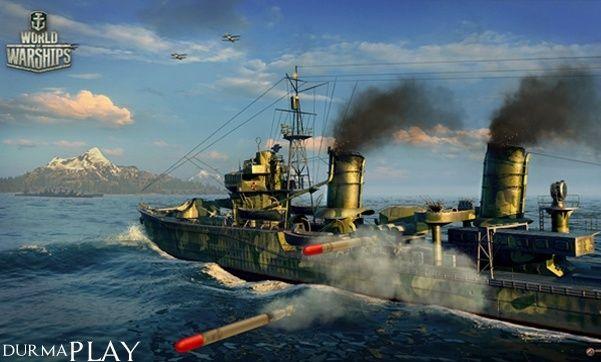 http://www.durmaplay.com/News/world-of-warships-cikis-tarihi-aciklandi   Rusyali video oyun sirketi Lesta Studio ve Wargaming is birligi çerçevesinde BigWorld oyun motoru kullanilarak gelistirilen deniz kuvvetleri tabanli aksiyon oyunu World of Warships resmi çikis tarihi belli oldu  Geçtigimiz 2 Temmuz'da Açik Beta asamasinda oyuncularin begenisine sunulan, MMO ve aksiyon oyunculari tarafindan da yüksek bir begeni kaydeden World of Warships Microsoft Windows isleti