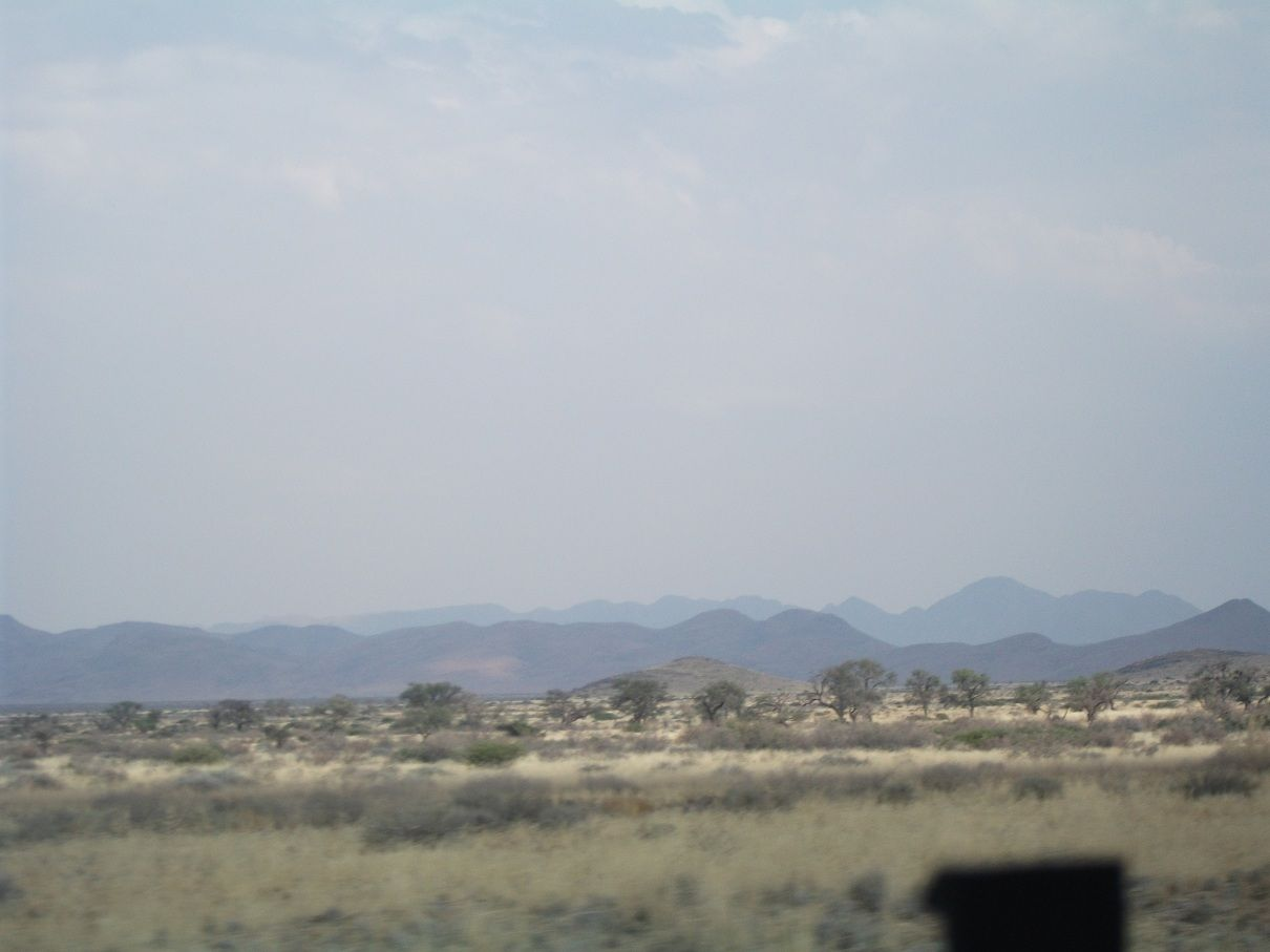 going to South desert