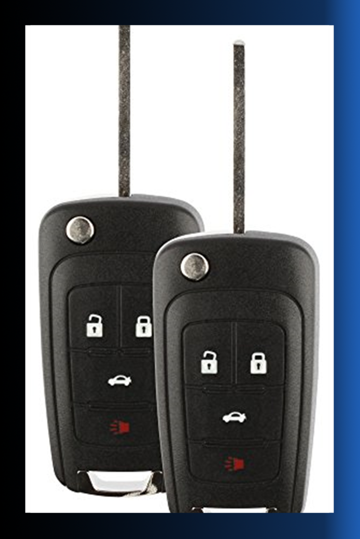 Discount Keyless Replacement Uncut Car Remote Fob Key Combo