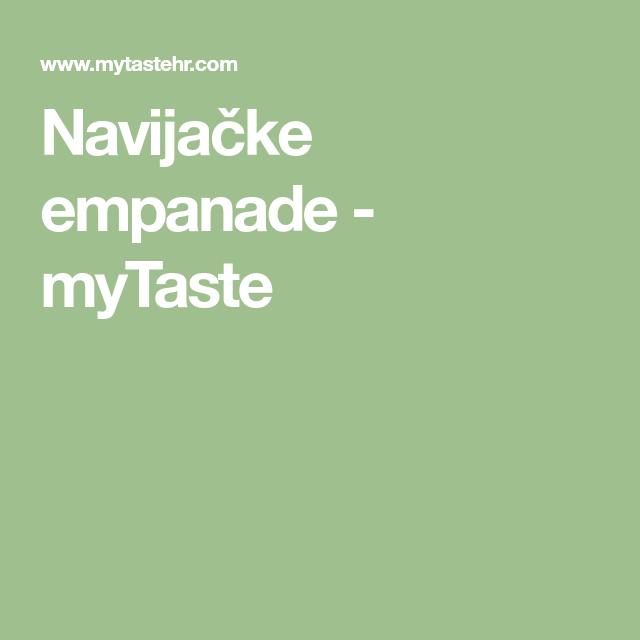 Navijačke empanade - myTaste