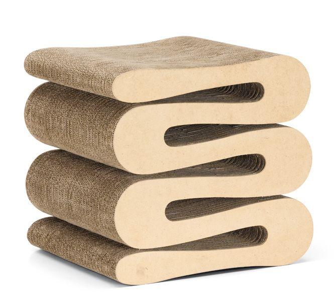 wiggle stool - frank o. gehry (vitra) | ausgefallene möbel, Attraktive mobel