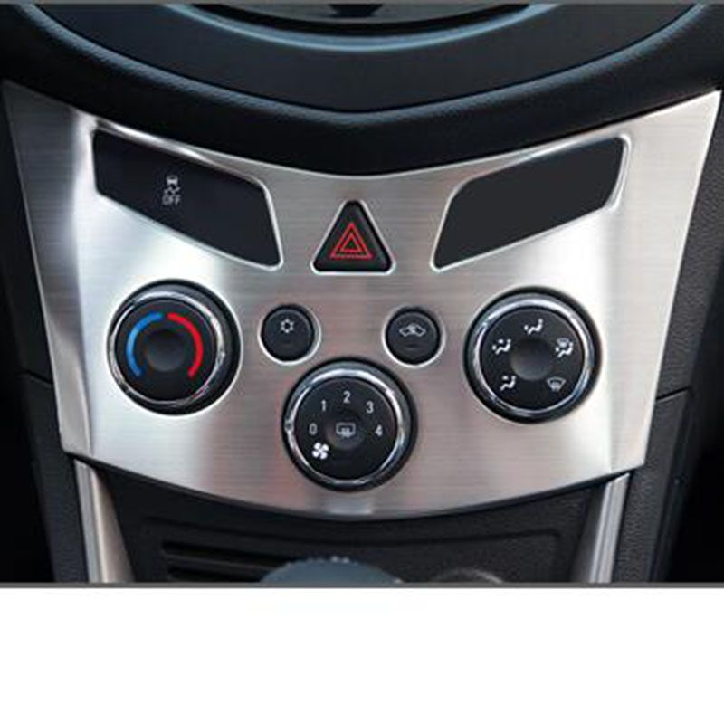 Stainless Steel Central Ac Adjustment Panel Interior