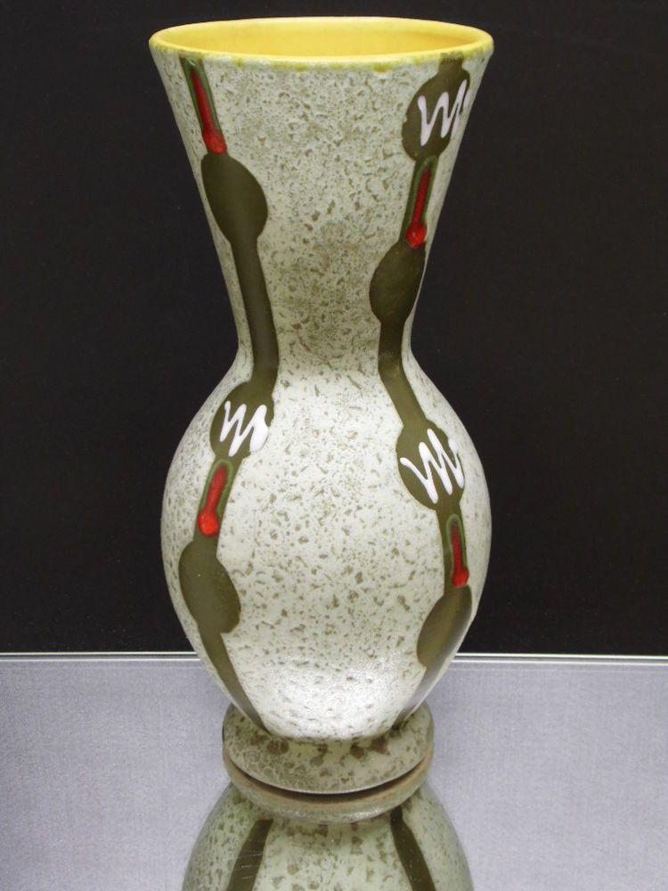 Große Vasen jasba zauberhafte große 50er jahre keramik vase 109 26 in guter